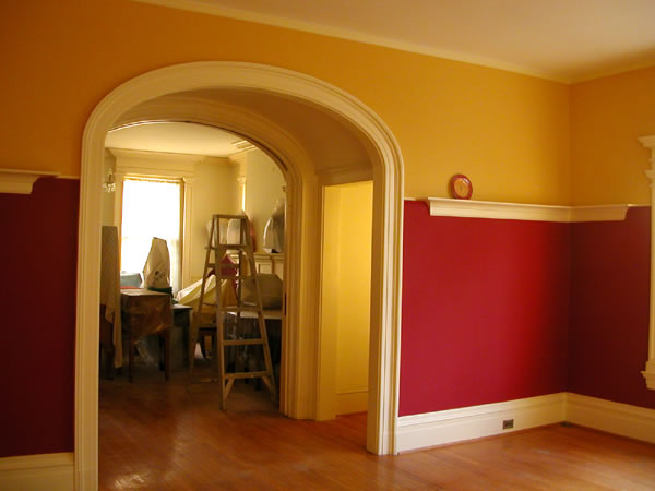 How To Plaster And Paint A Room